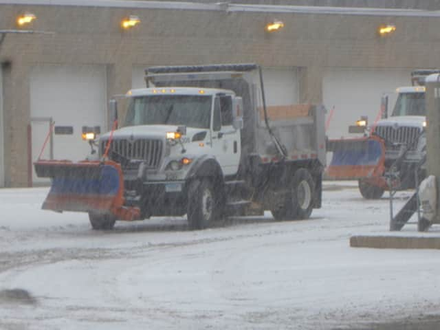 New Castle town officials have declared a snow emergency through Wednesday morning.