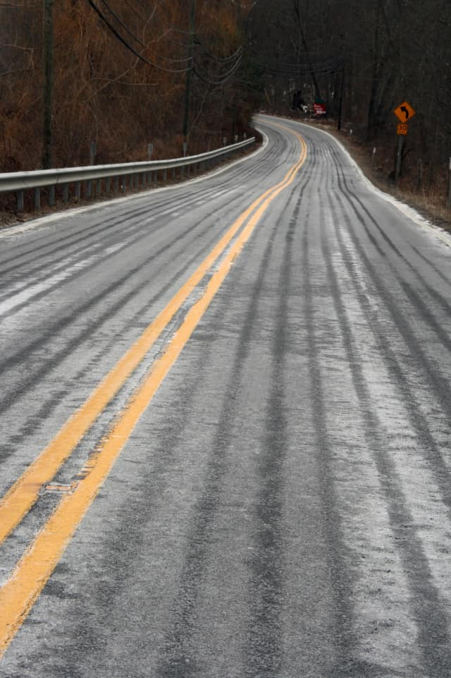 North Salem roads have been sprayed with a salt-brine solution in preparation for the coming storm.