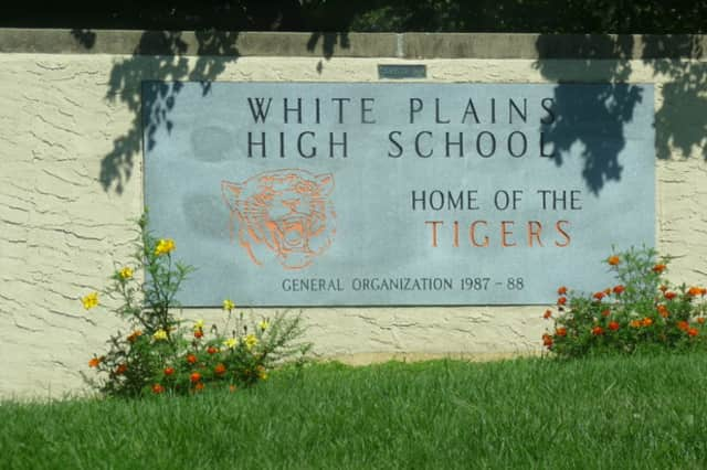 Police responded in force to White Plains High School after receiving an unscheduled lockdown notification.