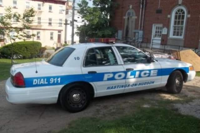 Hastings police found a man unconscious in his home.