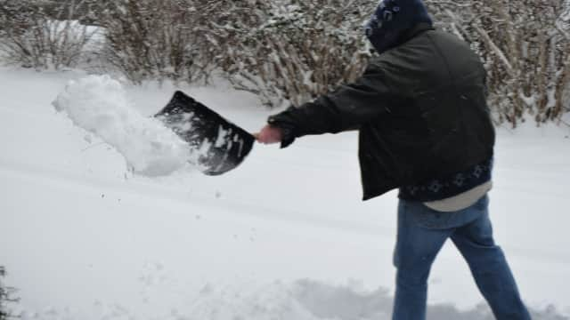 A massive snowstorm could dump up to 15 inches of snow on Westchester by Saturday.