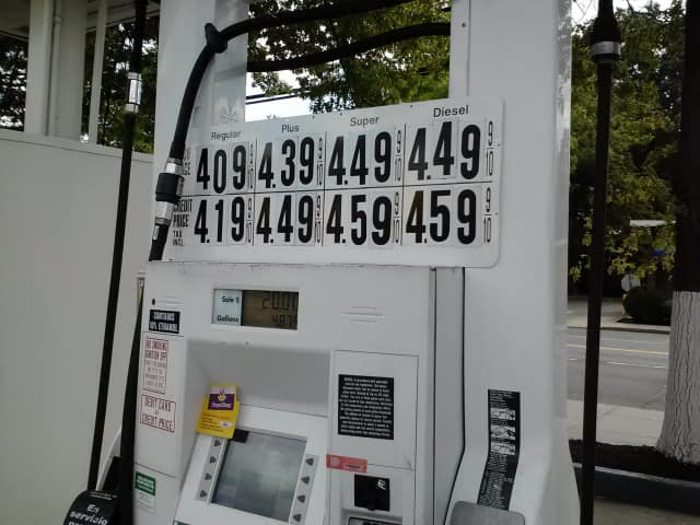 Gas prices are on the rise in Mount Vernon.