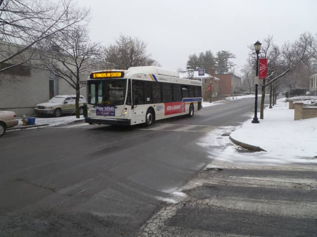 Hastings and Dobbs Ferry police posted parking restrictions to keep local streets clear.