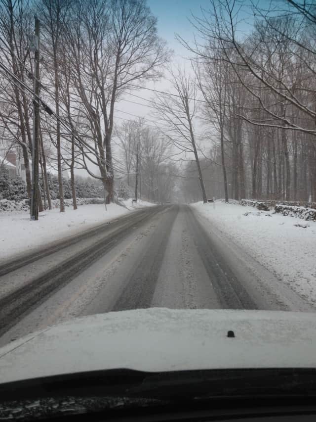 Westport officials are urging residents to stay off roads and not park on the streets, if possible, in anticipation of Thursday's snowstorm.
