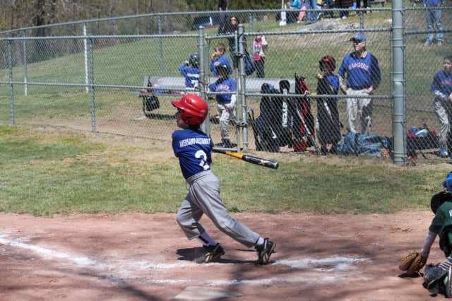 North Salem little leaguer Timmy Giacchetto played on the Rangers last year.
