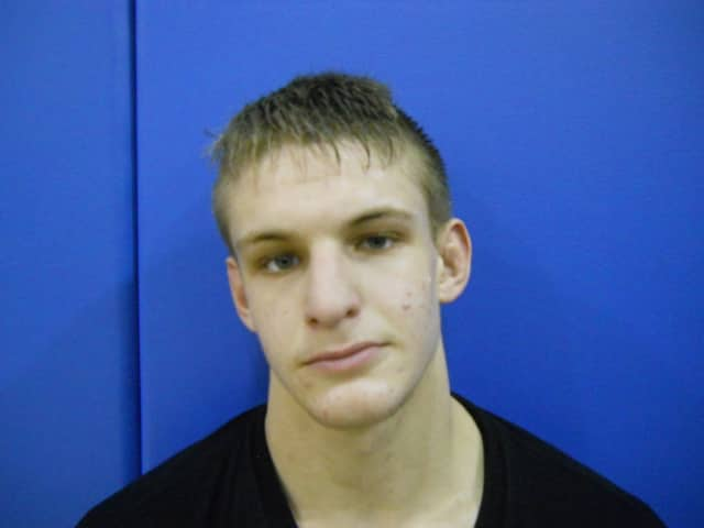 Irvington's Brett Pastore won his second consecutive Section 1 Small School Wrestling title Sunday.