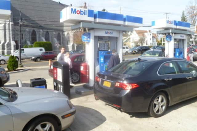 Gas prices are at a four-year peak in New York in advance of the Fourth of July holiday.