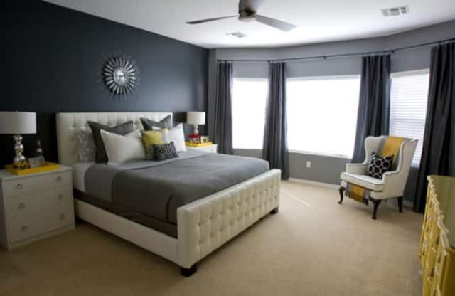 This Scarsdale bedroom was designed by award winner Monica Kahn.