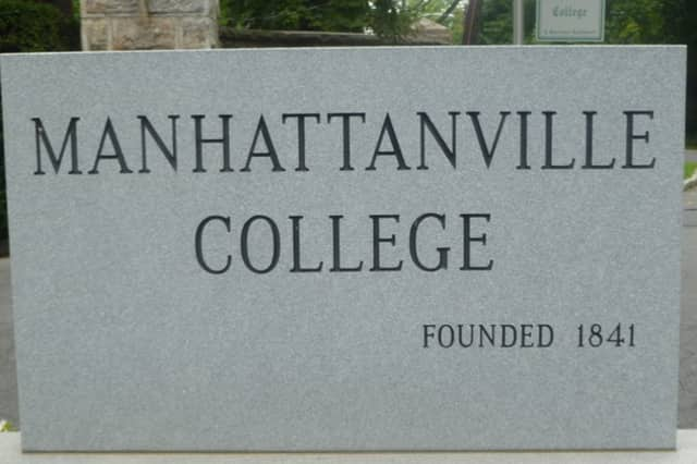 The library at Manhattanville College in Purchase was evacuated early Wednesday after students smelled gas in the area.
