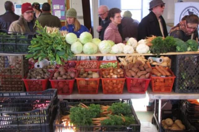Pleasantville will host an indoor farmers' market this Saturday.