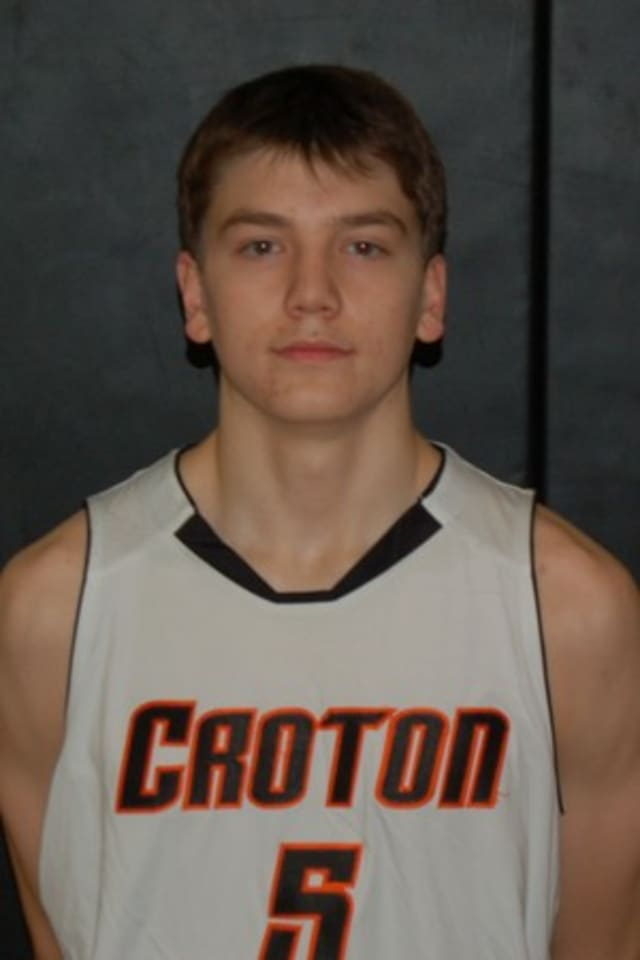 Croton-Harmon High School boys basketball star Ian Thom will lead his team into the playoffs against Edgemont on Friday.