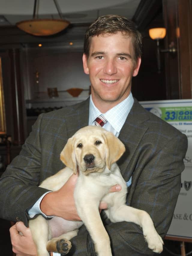 Eli Manning will host Yorktown-based Guiding Eyes for the Blind's Golf Classic in June.