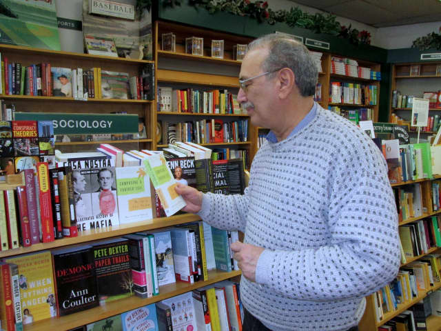 Gene Sgarlata, owner of Bronxville's Womrath Bookshop,isn't suprised that Barnes & Noble will maintain just 450-500 stores nationwide 10 years from now.