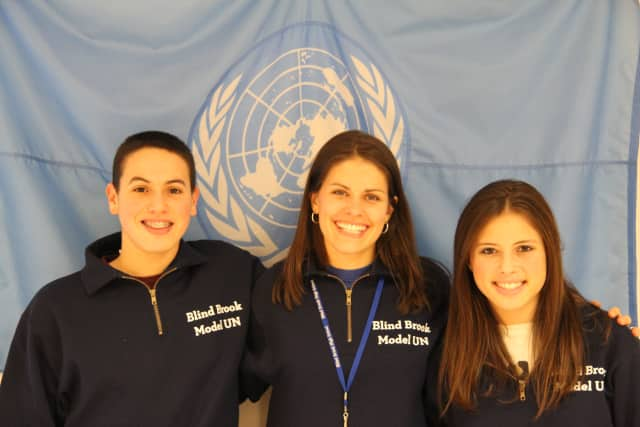 Rye Brook's Blind Brook School District students did well at a recent Model U.N. conference in Baltimore.