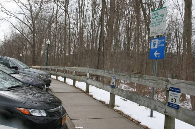 A new meter for commuters is planned for the Croton Falls Back Street parking strip.