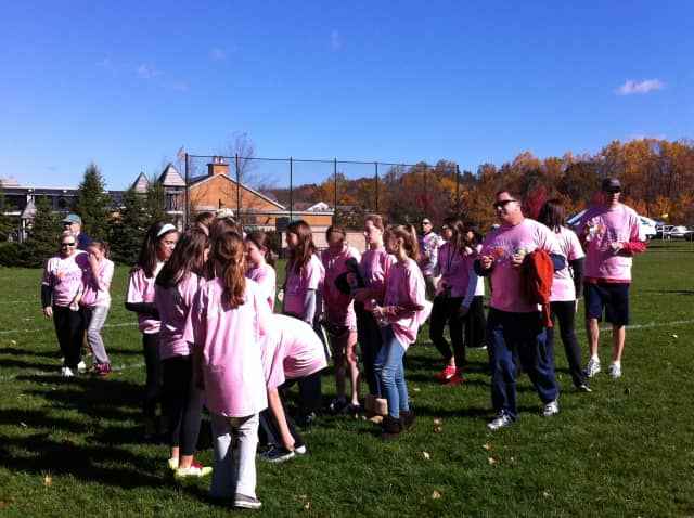 There were 23 teams of people who participated in the Walk To Cure Diabetes at Ridgefield Parks and Recreation in October last year.