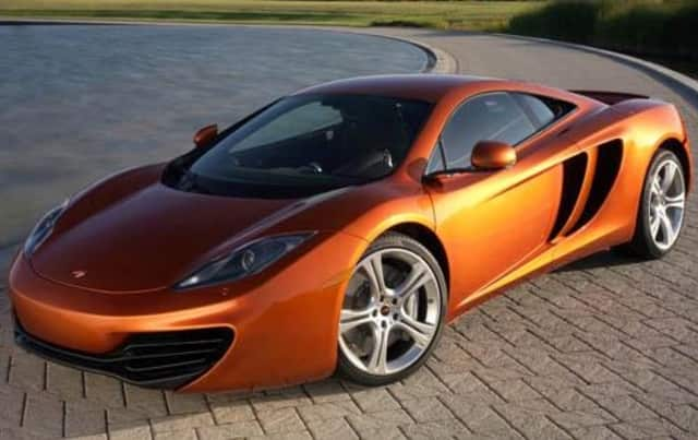 One house in Ridgefield has a 2012 McLaren MP4-12 sitting in their driveway, its valued at $230,000.