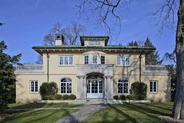 This house at 18 Ridge Road in Bronxville is among those to be featured at open houses this weekend.