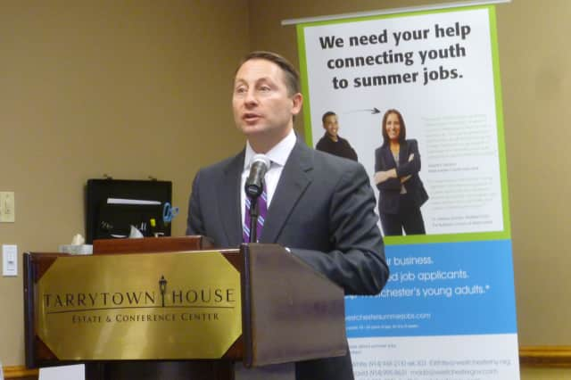 Westchester County Executive Rob Astorino praised the summer jobs program on Thursday.
