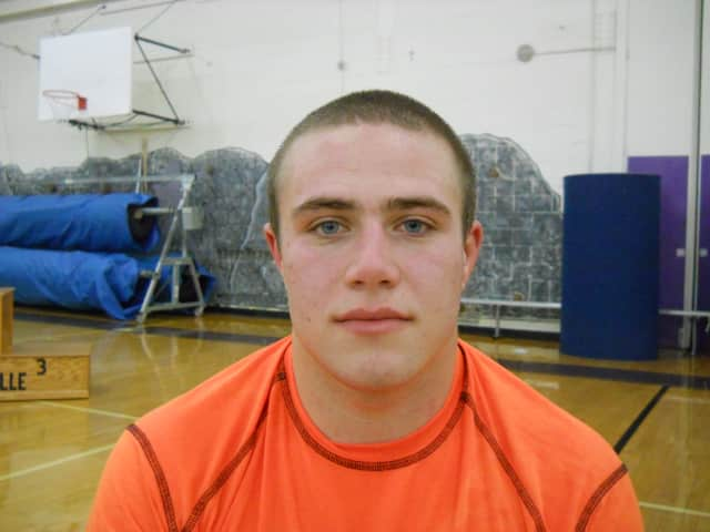 Senior Scott Wymbs is the first Horace Greeley wrestler since 2006 to qualify for the New York State Public High School Athletic Association Wrestling Championships, which begin Friday.