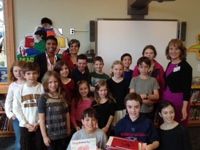 Students from Pelham's Colonial School recently sent Valentines to residents of Sound Shore Medical Center's Schaffer Extended Care Center.