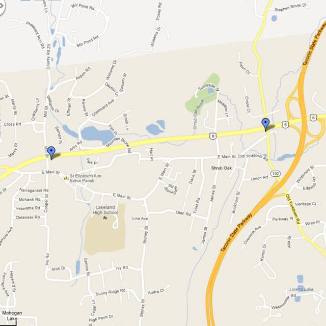 Yorktown police recommend East Main Street as a detour when Route 6 closes from 8 p.m. to midnight Thursday.