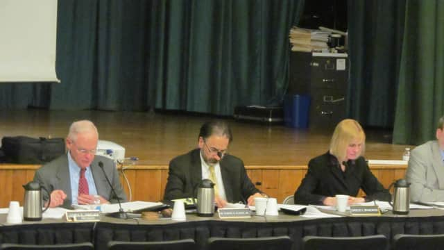 The Port Chester school board will meet Wednesday.