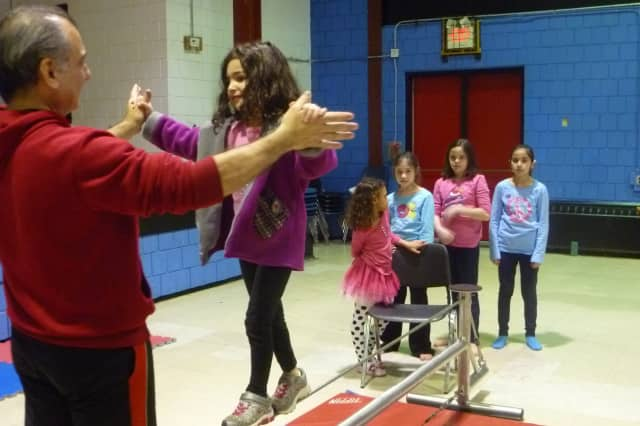 Kids and teens practiced circus arts at the Tarrytown Community Opportunity Center, which is currently looking for volunteers to help with the after school programs.