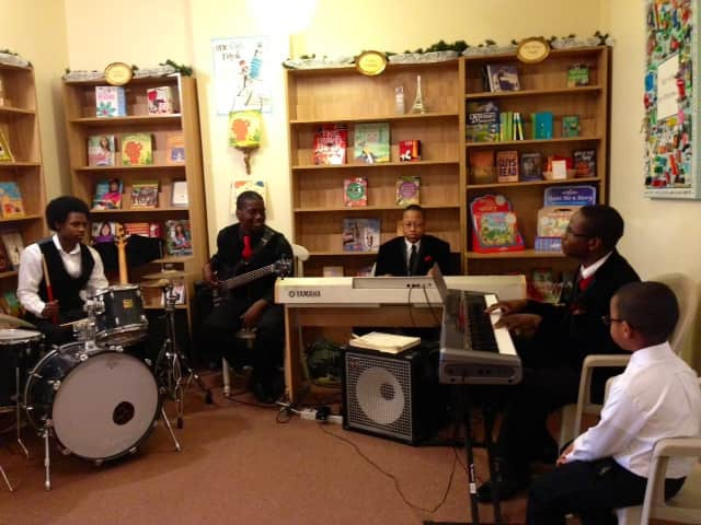 The Bennett Academy Troubadours of New Rochelle perform Sunday at The Voracious Reader bookstore in Larchmont.