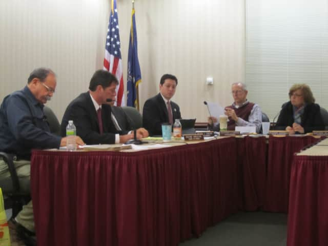 The Ossining Town Board discusses possible missing funds during a work session in January.
