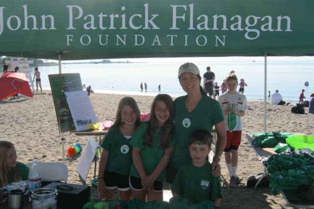 The Flanagan family of Fairfield honors the late John Flanagan through a foundation that makes charitable contributions to local agencies.