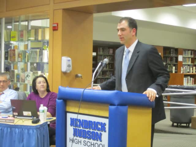 The Hendrick Hudson School Board selected Joseph E. Hochreiter Wednesday evening to be the district's next superintendent of schools.