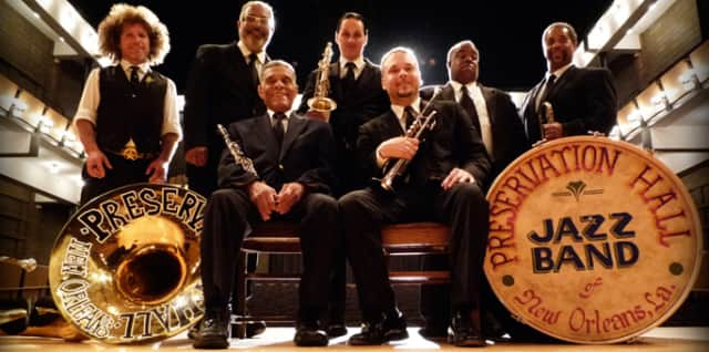 The Preservation Hall Jazz Band will be at the Emelin Theatre this Saturday.
