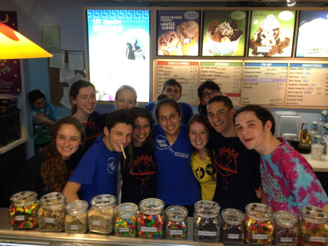 Horace Greeley High School SHARE students sold Ben & Jerry's ice cream last night in an effort to raise money for Think Fit.
