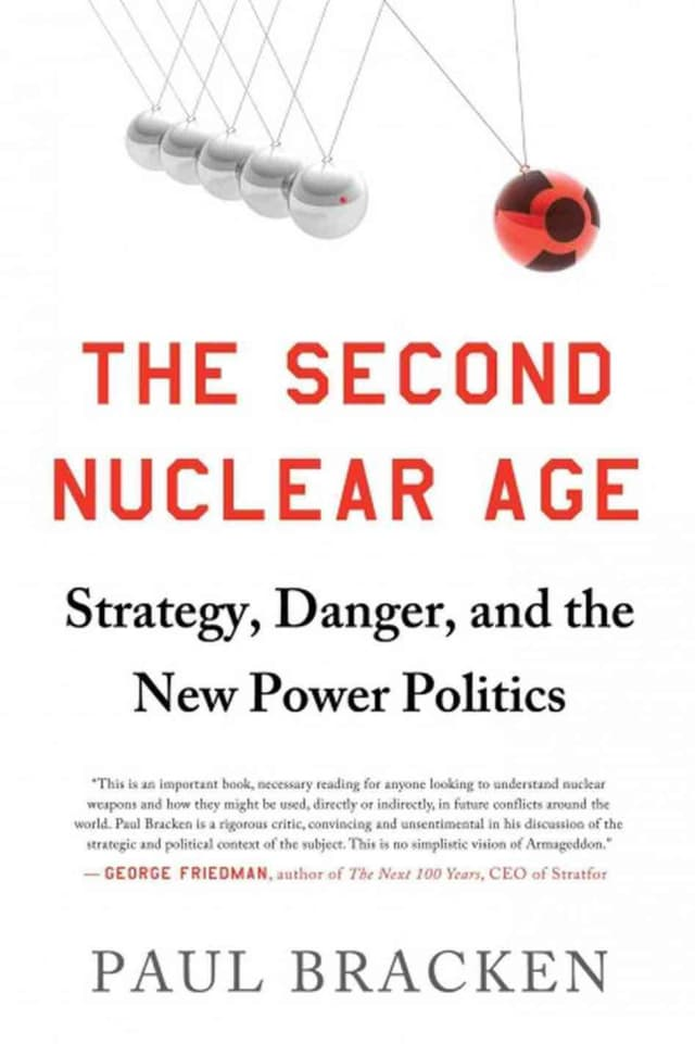 Yale professor Paul Bracken will discuss his latest book Sunday in North Salem. The book suggests scenarios that could change the world's balance of power and underscores America's need to be prepared for various possibilities.