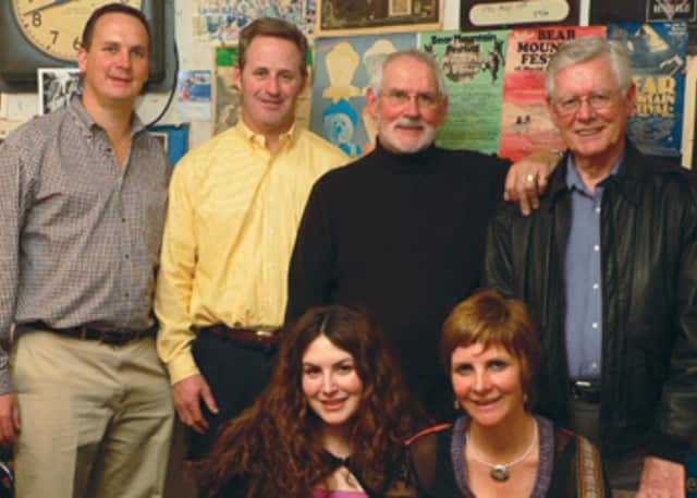 The Clancy Tradition will perform at the Lewisboro Library Saturday night as part of the Common Ground Folk Series.