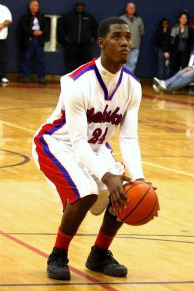 Peekskill High School boys basketball star Laron Holt is The Peekskill Daily Voice Athlete of the Month for February.