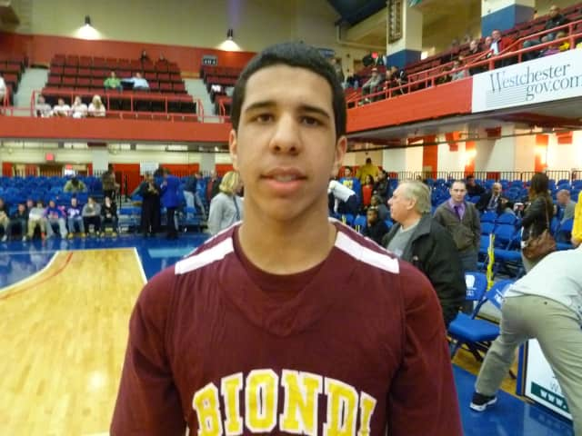Biondi School's Ronald Garcia has been named the Yonkers Daily Voice Athlete of the 