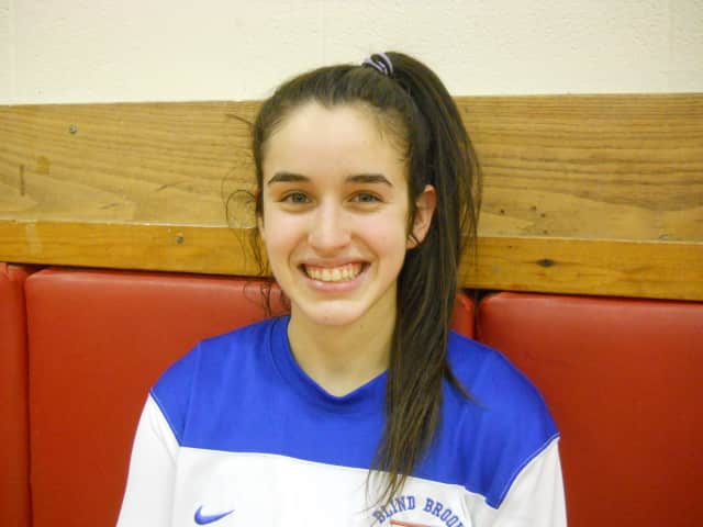 Blind Brook senior Ally Silfen led the varsity girls basketball team to an 18-4 record and second consecutive trip to the Section 1 Class B title game.