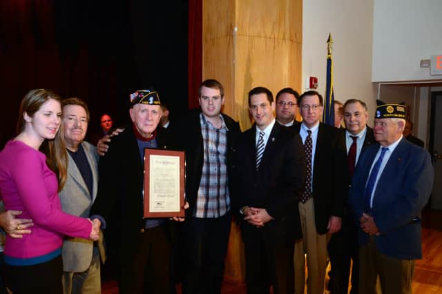 North Salem's Joe Tyson was inducted into Sen. Greg Ball's Veterans' Hall of Fame.
