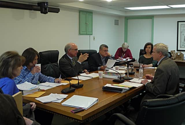 The Ridgefield Board of Selectmen meet for its first general budget meeting Monday night to discuss the more than $3.6 million in capital spending for the next fiscal year.