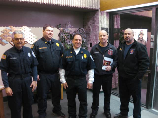 "The fire departments of Chappaqua and Millwood visit the Chappaqua Public Library Monday night for their first segment of ""Ask the Chief."""