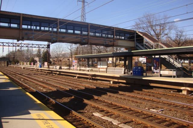 Work has begun on replacing the platforms at the Noroton Heights train station in Darien.