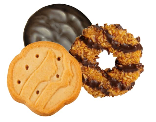 Briarcliff Manor Girl Scout Brownie Troop 1310 will be selling Girl Scout cookies outside of Euro Pizza in Briarcliff Saturday.
