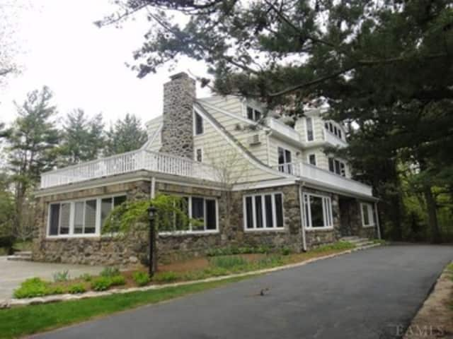 This home on Ossining's Tavano Road will host an open house this weekend.