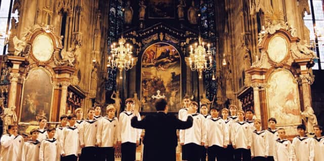 The Vienna Boys' Choir is coming to Mamaroneck Saturday.