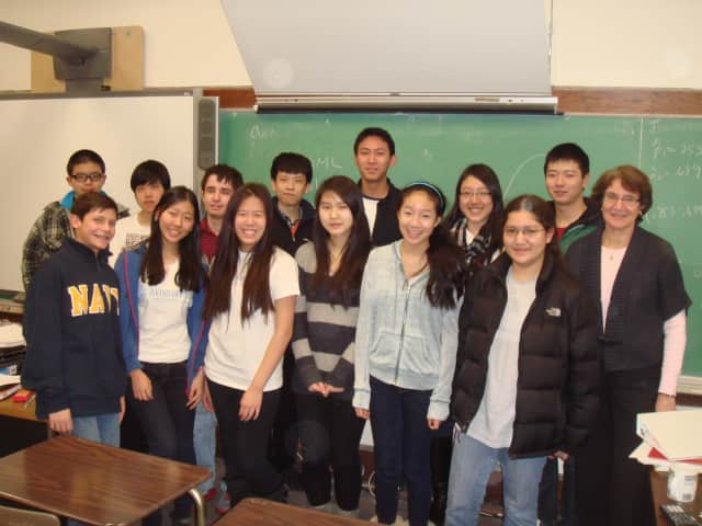 The Scarsdale High School math team won first place at the Westchester Math League competition.