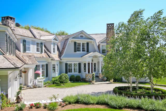 The home at 115 Middlebrook Farm Road in Wilton recently sold for over $2.57 million.