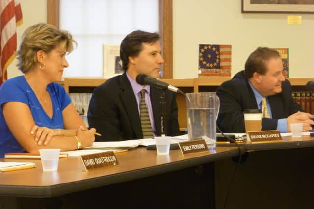 Members of the Pleasantville Board of Education said they are committed to further reductions and reaching the tax levy cap.