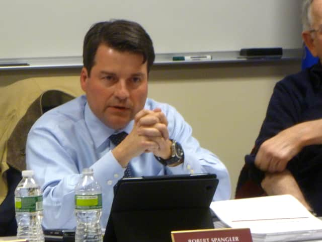 New Canaan residents will have a chance to voice their opinions to Robert Spanger and the rest of the town's Board of Finance.
